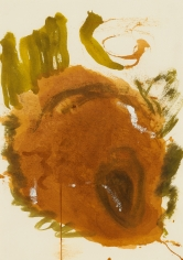 """""""Untitled"""", 1989 Gouache on paper"""
