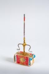 """""""Standart-Modell"""", 1972-1973 Cardboard, metal, tape, paintbrush"""