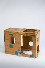 """Standart-Modell"", 1972-1973 Cardboard"