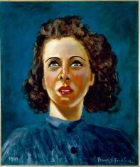 """""""Portrait de Suzanne"""", 1941"""