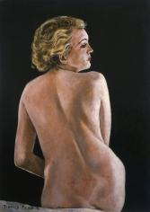 """Francis Picabia """"Nu de dos"""", 1941-1942"""