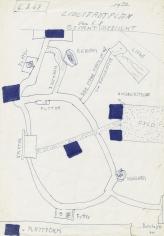 """LIDLSTADTPLAN vom 6.8. – Gesamtübersicht (LIDL-TOWN Map August 6 – Overview)"", 1968"