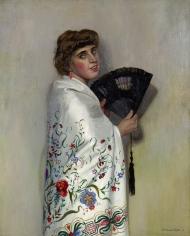 """""""Le châle blanc"""", 1911"""
