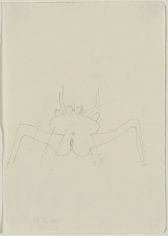 """Joseph Beuys """"Josephine"""", 1954"""