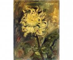 """Kurt Schwitters """"Chrysanthemum"""", 1946"""