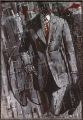 """Mann im Anzug - dithyrambisch I (Man in Suit - dithyrambic I)"", 1976"