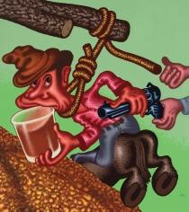 """""""Cowboy's Last Drink?"""", 2016"""