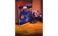 """""""Self-Portrait in the Studio"""", 1974"""