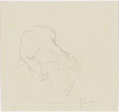 """Lucio Fontana """"Nudo"""", ca. 1956-1959"""