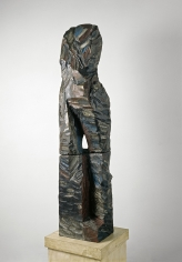 """Nymph"", 1981 Painted bronze, from an edition of 3"