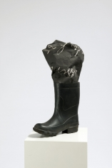 """Boot and photographic canvas"", 1968"