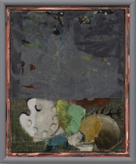 """Palette (Fragonard) Grau (Palette [Fragonard] Gray)"", 2018"