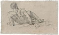 """""""Étude pour Le Repos (Study for Rest)"""", 1863"""