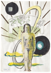 """""""Untitled"""", 1967 Gouache on paper"""