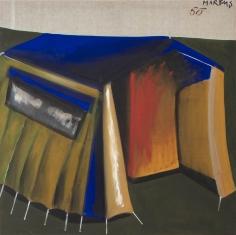 """""""Zelt 50 – dithyrambisch (Tent 50 – dithyrambic)"""", 1965"""