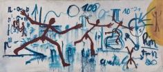 """Komposition (Übertritt: Ost/ West) Composition (Crossing: East/West)"", 1968"