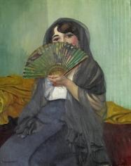 """""""Femme à l'éventail"""", 1912"""