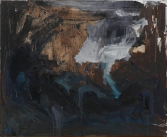 """Untitled"", 1981 Oil on canvas"