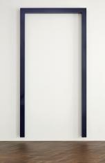 """""""DARK PRUSSIAN-BLUE PORTAL IV, 1"""", 1966-1967"""