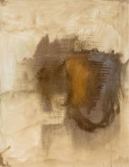 """Untitled"", 1990 Silver nitrate, dammar on canvas"