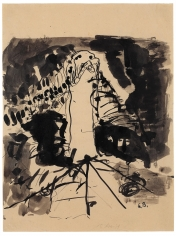 """Nightstick"", 1960 Ink on paper"