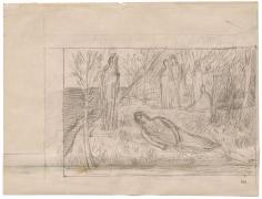 """""""La mort de la Poésie (The Death of Poetry)"""", ca. 1895"""
