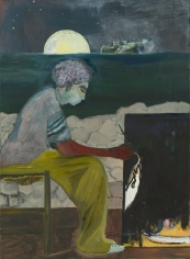 """Painting on an Island (Carrera)"", 2019"