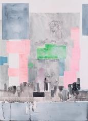 """Ebony"", 2016 Acrylic on canvas"