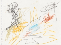 """""""Untitled"""", 1999-2000 Colored pencil, pen on paper"""