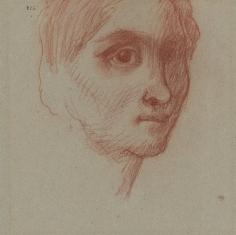 """Visage d'homme (Face of Man)"", ca. 1870-1880"