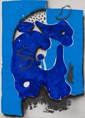 """Gears"", 2009 Ink, gouache on paper"