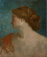 """""""Portrait de femme de Profil (Portrait of a Woman in Profile)"""", ca. 1857-1860"""