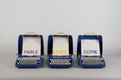 """""""Parle Ecrit Copie"""", 1972-1973"""
