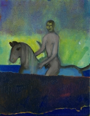 """Riding in Water (Blue)"", 2012"