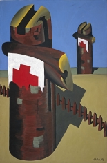 """Rote Kreuze - dithyrambisch (Red Crosses - dithyrambic)"", 1967"