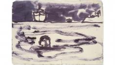 """""""Tanker (Figure in Water)"""", 2007"""