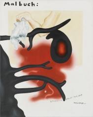 """""""Malbuch: Zeichnung spricht zum Bild (Colouring Book: Drawing speaks to Picture)"""", 2004"""