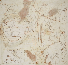 """""""Untitled"""", 1990 Silver nitrate, silver bromide, silver sulfate, dammar on linen"""