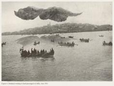 Mehreen Murtaza, Boatmen waiting to land passengers at Jaffa, circa 1911, 2012, Hahnemühle Matte Cotton Smooth Inkjet Paper