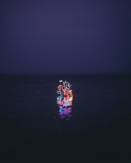 Jung Lee, Day and Night #3, 2012, C-type Print, 175 × 140 cm