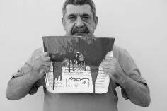 Jaber Al Azmeh, Fares Al Helou, 2012, Printed on Cotton Rag Fine Art Archival paper, 75x 112.5cm, Ed. of 3 + AP