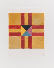 Ana Mazzei, Board Games II,2019, Gouache on paper, 40 x 30 cm