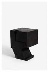 Seher Shah,Untitled (cantilever cut), 2015, Cast iron, 21.5 x 10 x 15.8 cm, Ed. of 2