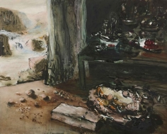 Ziad Dalloul, Celebrations of the Absent, 2010, Oil on canvas, 130 x 162 cm