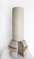 Nazgol Ansarinia, Article 46, Pillars, 2014, Cast resin & paint, 62 x 32 x 32 cm