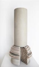 Nazgol Ansarinia,Article 46, Pillars, 2014, Cast resin & paint, 62 x 32 x 32 cm
