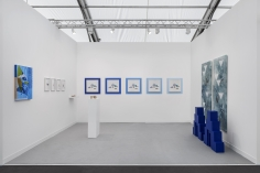 Installation view of Green Art Gallery, Dubaiat Frieze London, 2018
