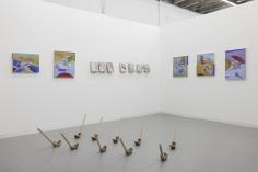 Installation view of Green Art Gallery, Dubai at LISTE, 2018