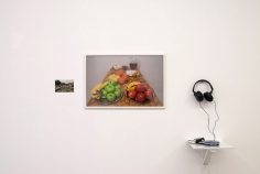 Iman Issa, Triptych No.2, 2009, Photographs, sound, Dimensions variable
