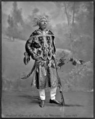Mehreen Murtaza, Imperial Highness of Ethiopia, Ras Mäkonnen, August 1902, 2012, Hahnemühle Matte Cotton Smooth Inkjet Paper